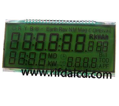 how to read smart meter display